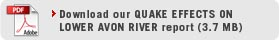 Download Quake Effects on Lower Avon River Report