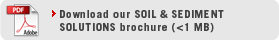 Download our Soil & Sediment Solutions brochure